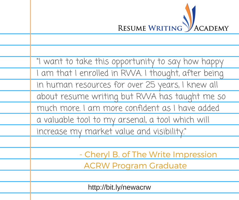 Resume Writing Academy Home